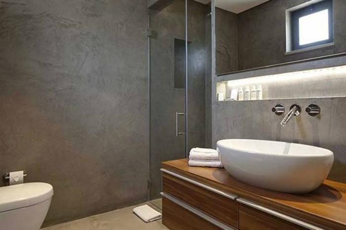 Pavimenti e rivestimenti in microcemento una soluzione - Rivestimenti bagno resina ...