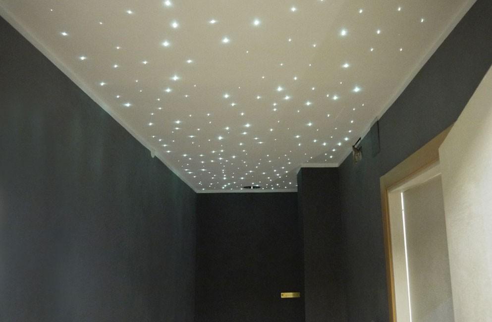 Illuminazione naturale con fibra ottica illuminare con i condotti