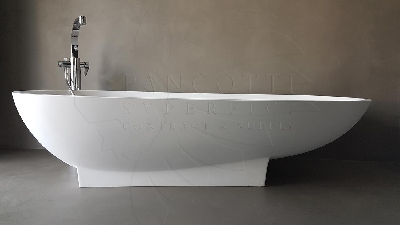 pancotti microcemento bagno roma