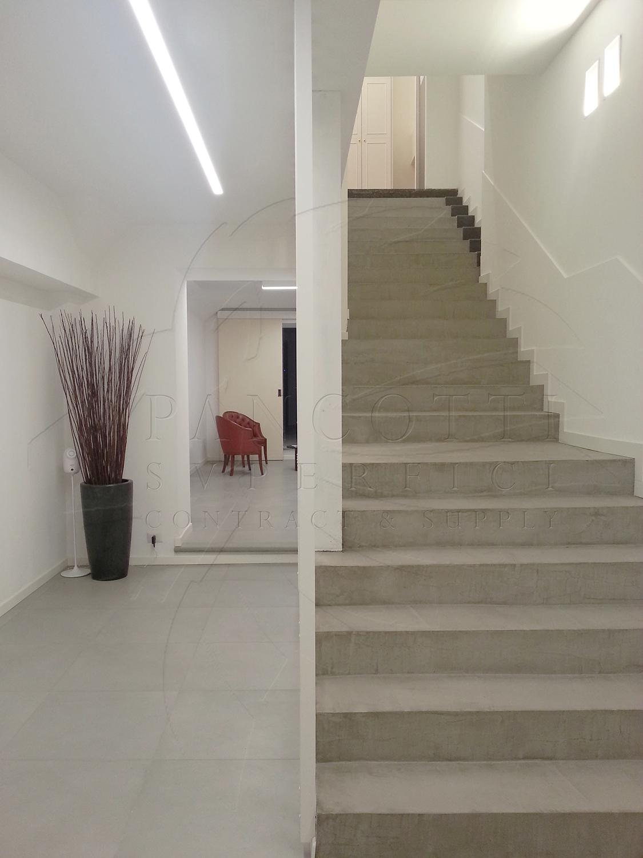 pancotti pavimenti scala microcemento milano 2